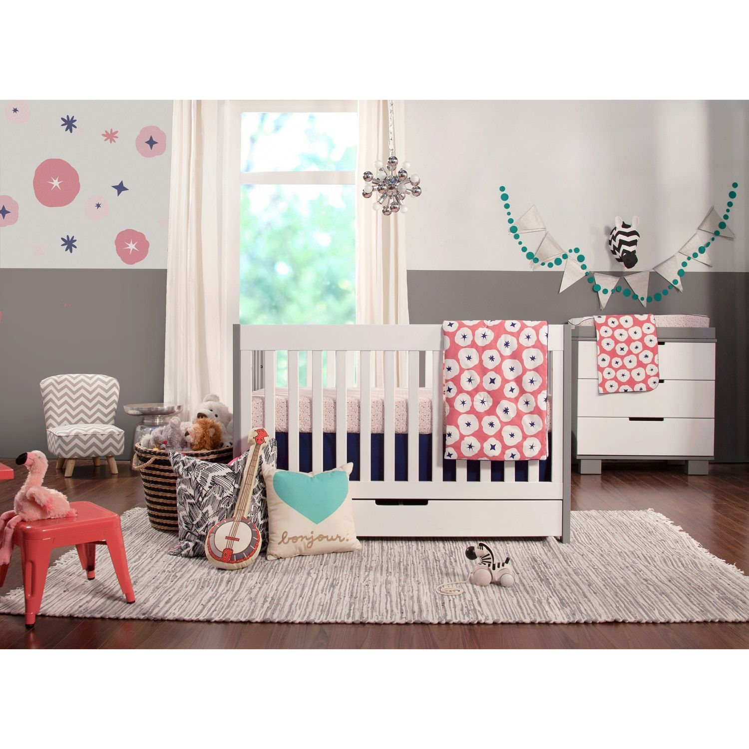 Babyletto Mercer 3 In 1 Convertible Crib With Toddler Bed Conversion Kit Espresso