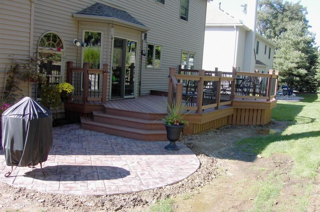 This Is A Sharp Two Level Deck Using Low Maintenance Decking With Low  Voltage Lighting. | Multi Level Decks By Hickory Dickory Decks | Pinterest  | Decking, ...