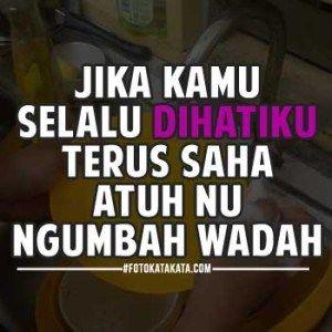 Kata Cinta Orang Sunda
