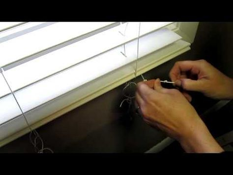 How To Shorten Blinds Video Levolor Wood And Faux Wood Blinds