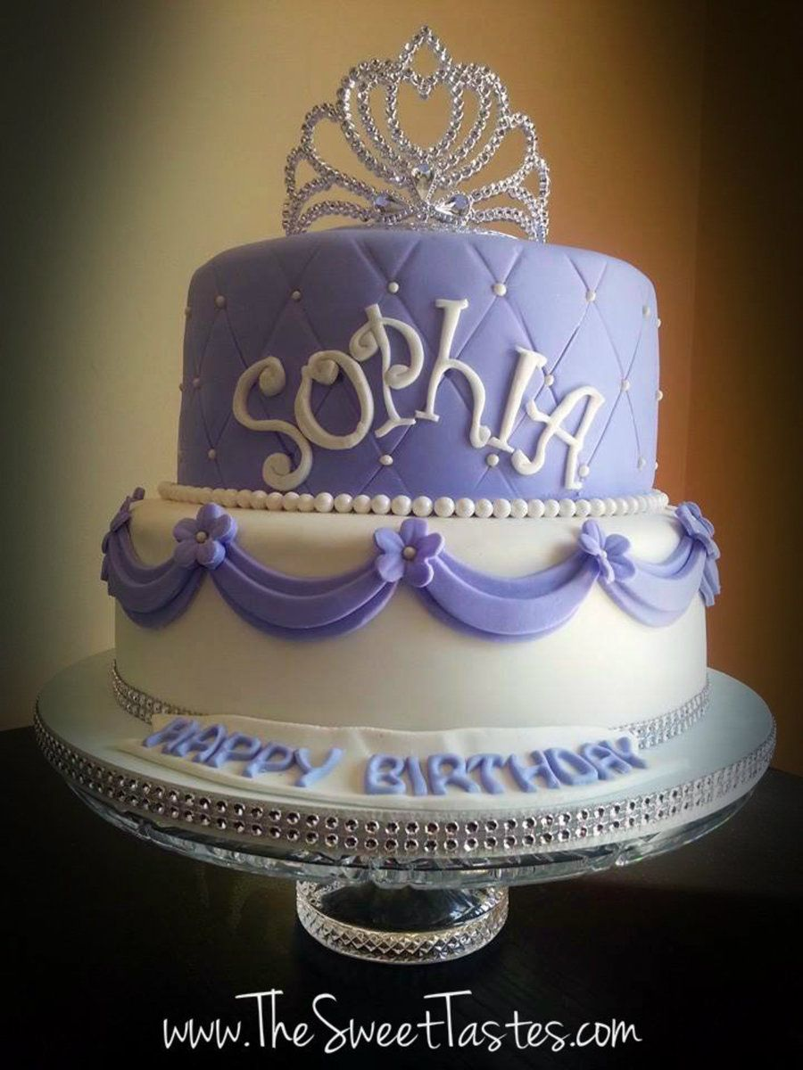 Sofia The First Birthday Cake Emilys First Birthday Pinterest