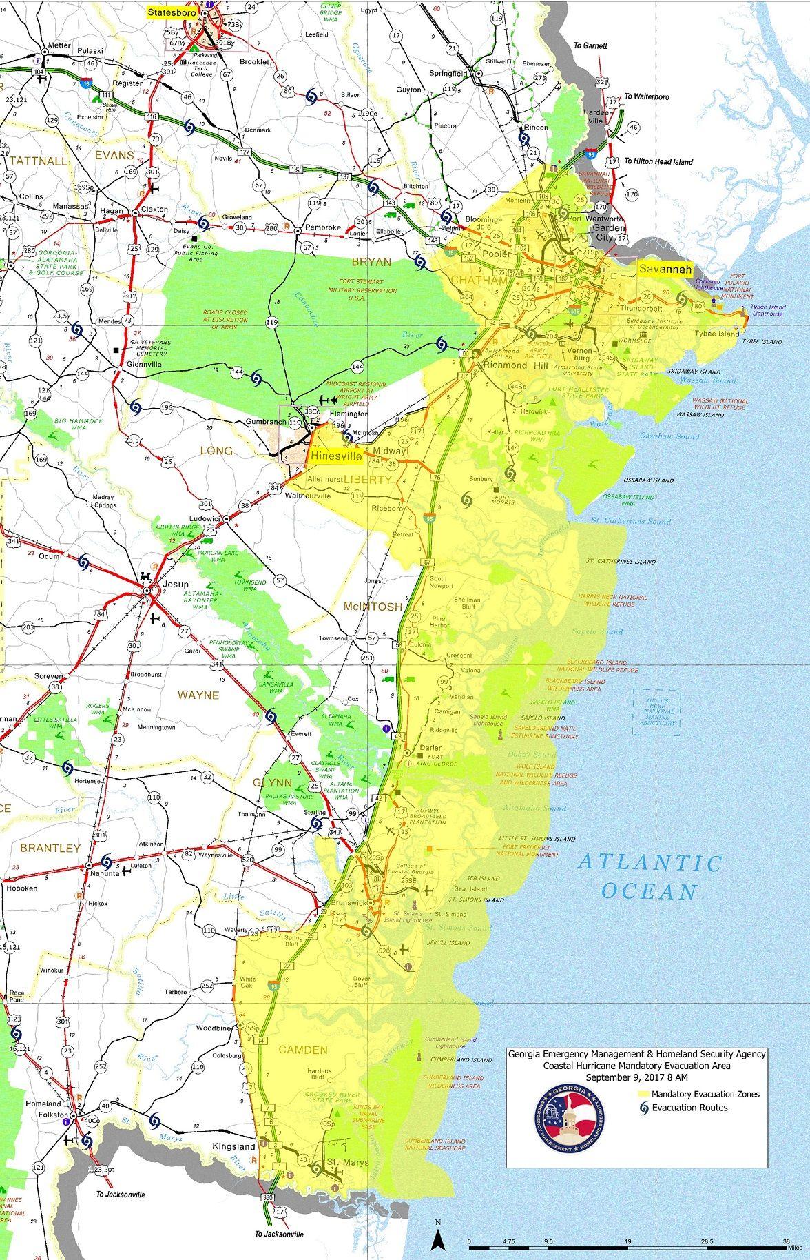 Mandatory Evacuation Zones Irma Jpg 1176 1828 Evacuation Hurricane Weekend Is Over
