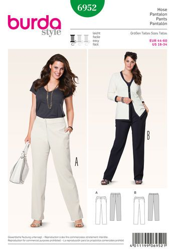 Burda Style Plus to size 60 | Sewing Stuff I like | Pinterest