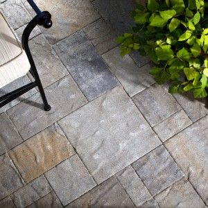Outdoor Miraculous Stamped Concrete Vs Pavers For Modern
