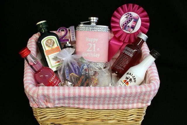 Personalised 18Th Birthday Gift Basket
