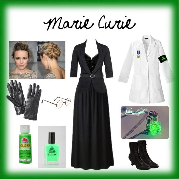 marie curie costume by laura myers on polyvore featuring lab mbym merona and dorothy perkins. Black Bedroom Furniture Sets. Home Design Ideas