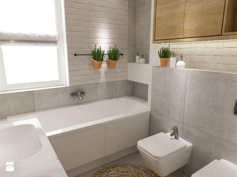 Une salle de bain bien aménagée #gris #blanc #déco #aménagement