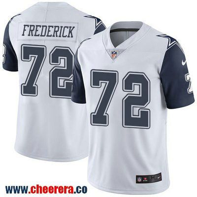 Men s Dallas Cowboys  72 Travis Frederick White 2016 Color Rush Stitched  NFL Nike Limited Jersey f42c1cf9a