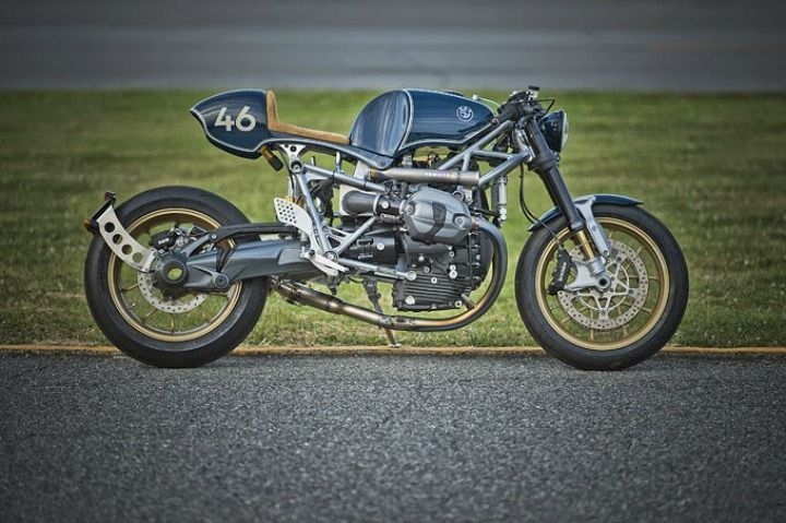 BMW R Ninet Cafe Racer by 46Works #motorcycles #caferacer #motos | caferacerpasion.com