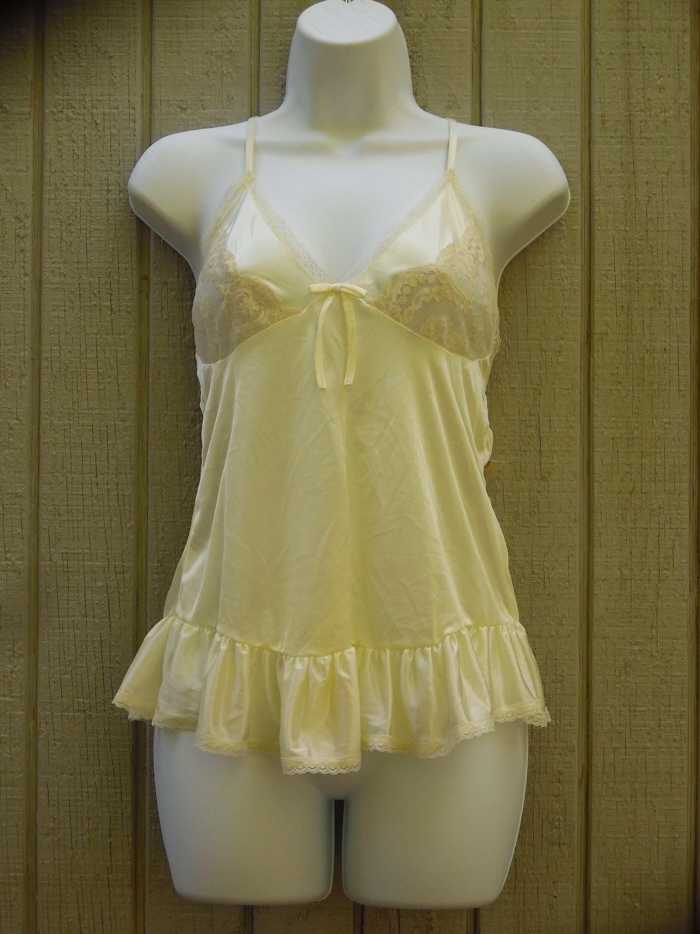 c4a62ba760ad6 80s 90s Vintage Babydoll Nightie New with Tags Size Medium/Small in ...