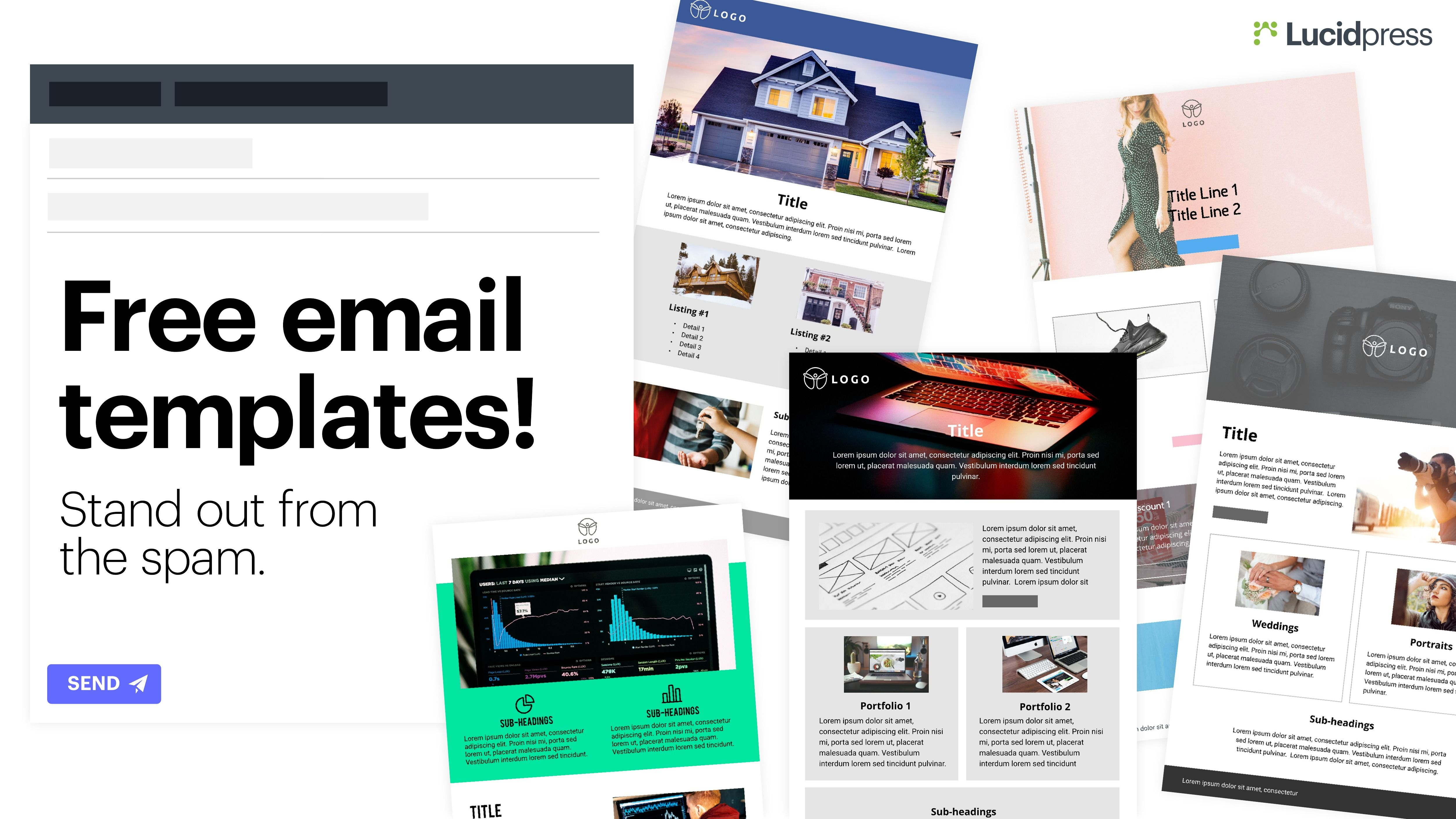 Free Email Newsletter Templates Free Email Newsletter Templates