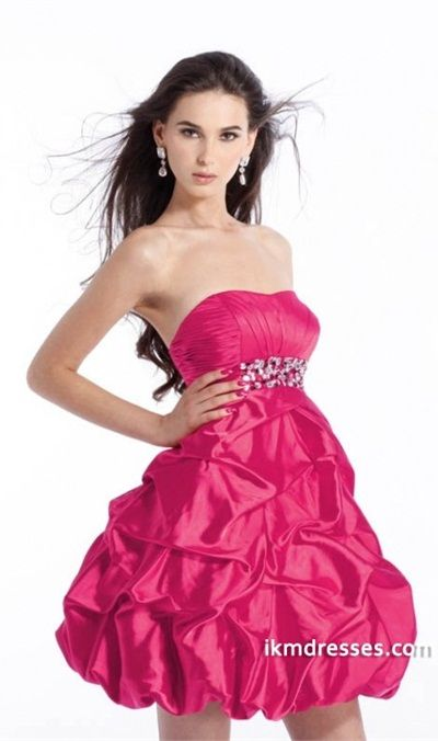 http://www.ikmdresses.com/Ball-Gown-Strapless-Short-Mini-Sleeveless-Taffeta-Beaded-Prom-Dress-With-Ruffles-p82602