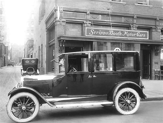 1910 Scripps Booth Touring Car