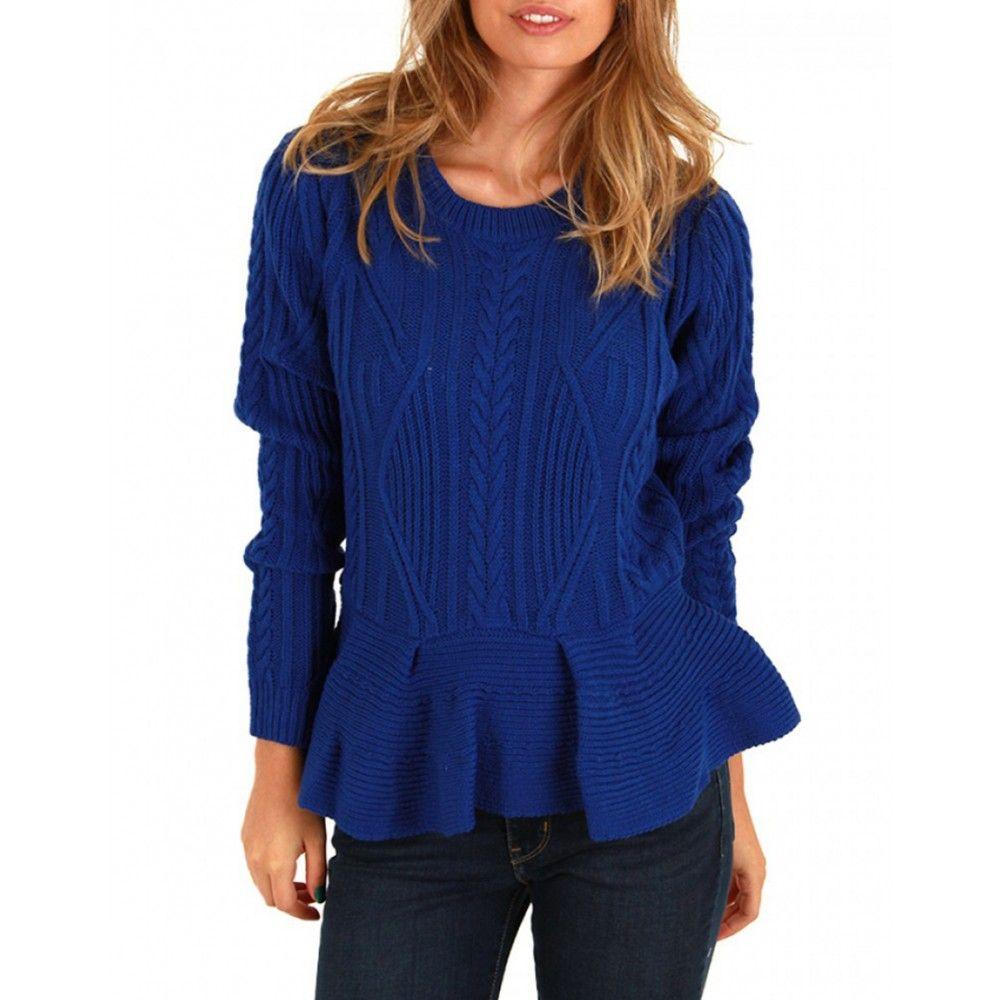 Royal Blue Sweater- SIX-CRISP-DAYS - Jumpers & Cardigans - Women ...
