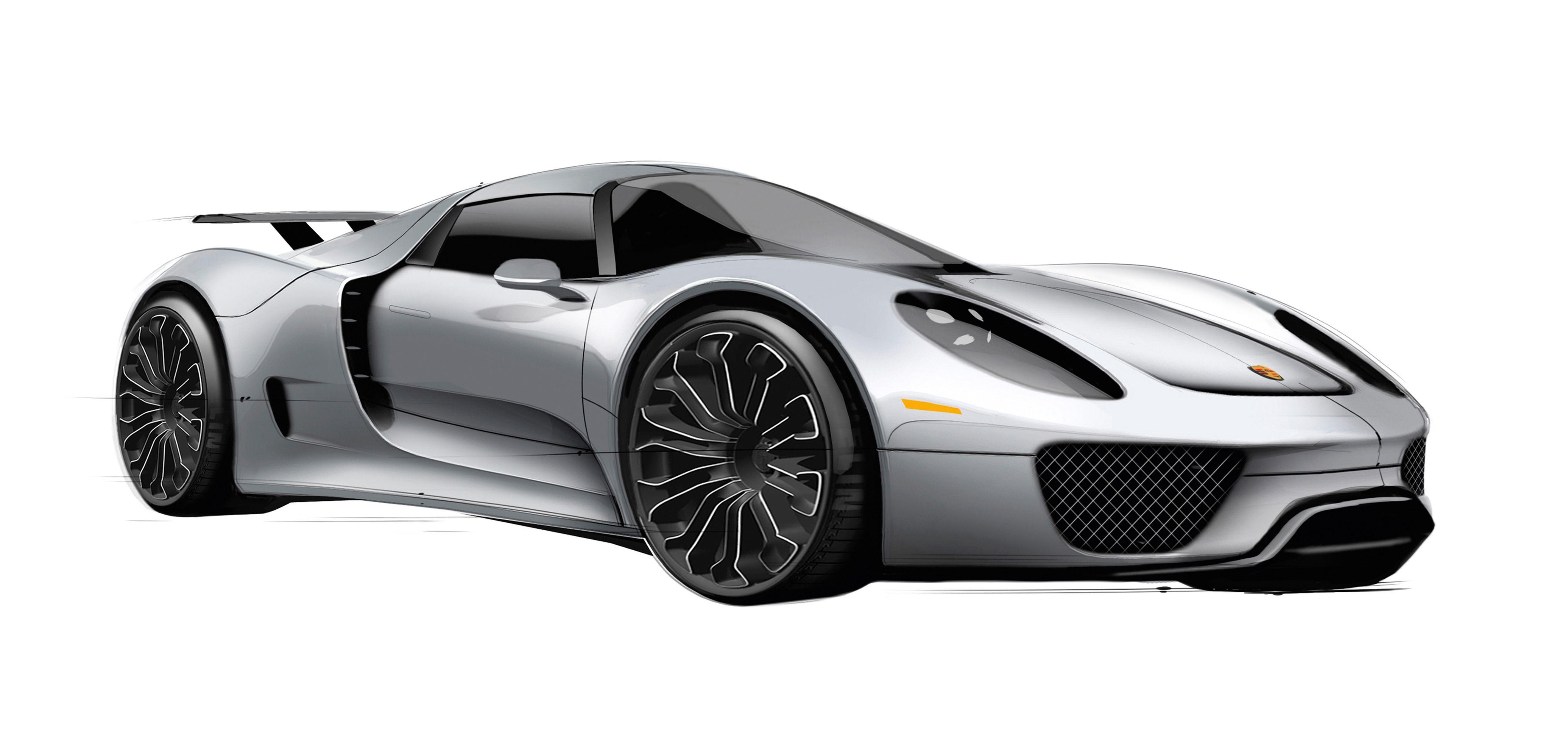 Pricing Announced For Porsche 918 Spyder Porsche 918 Super Cars Hybrid Car