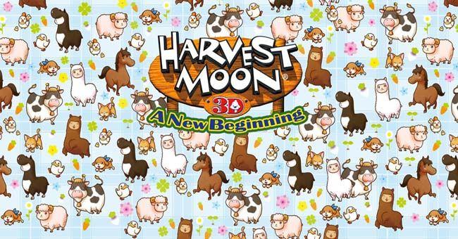 Harvest Moon 3d A New Beginning Rom 3ds Usa Cia Region Free