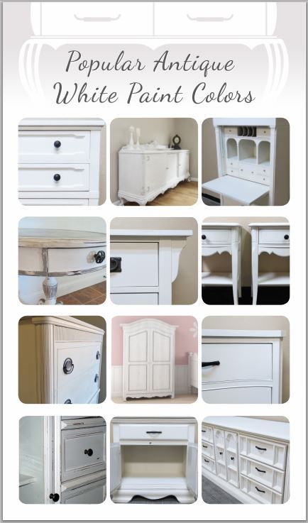 Painted Furniture Colors, Best White Paint For Furniture