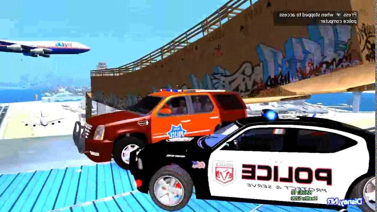 Color Suv Police Cars with Policeman Spiderman Cartoon for Kids and ...