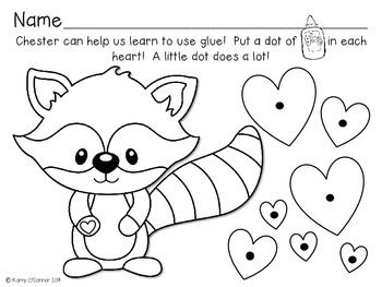 The Kissing Hand activities for Preschool, PreK and ...