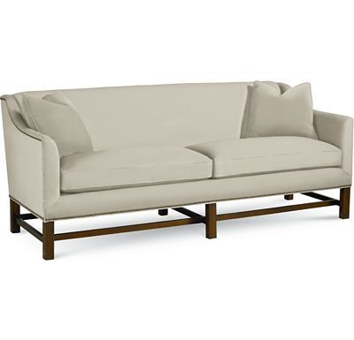 Living Room : Love Seat : Thomasville Furniture   Upholstery/ Leather  Griffin Sofa   1668