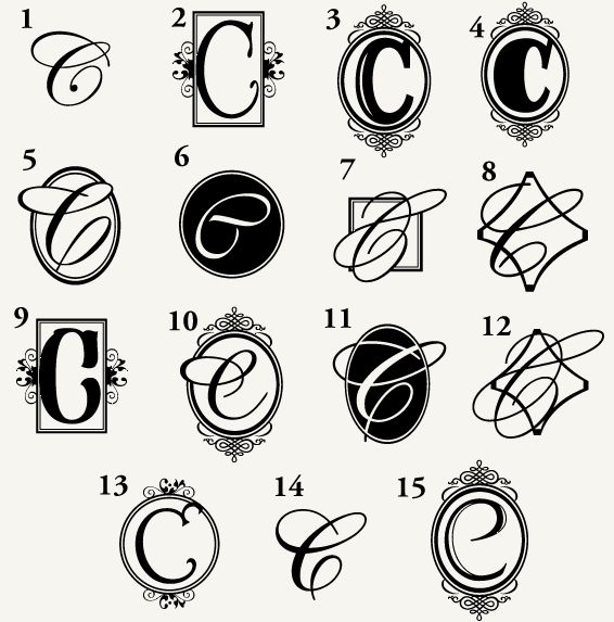 monogram c for the home pinterest monograms tattoo and tatting. Black Bedroom Furniture Sets. Home Design Ideas