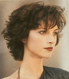 Short Curly Hairstyle For Over 50