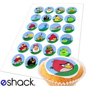 Edible cupcake toppers. Only $2.99 for 24.