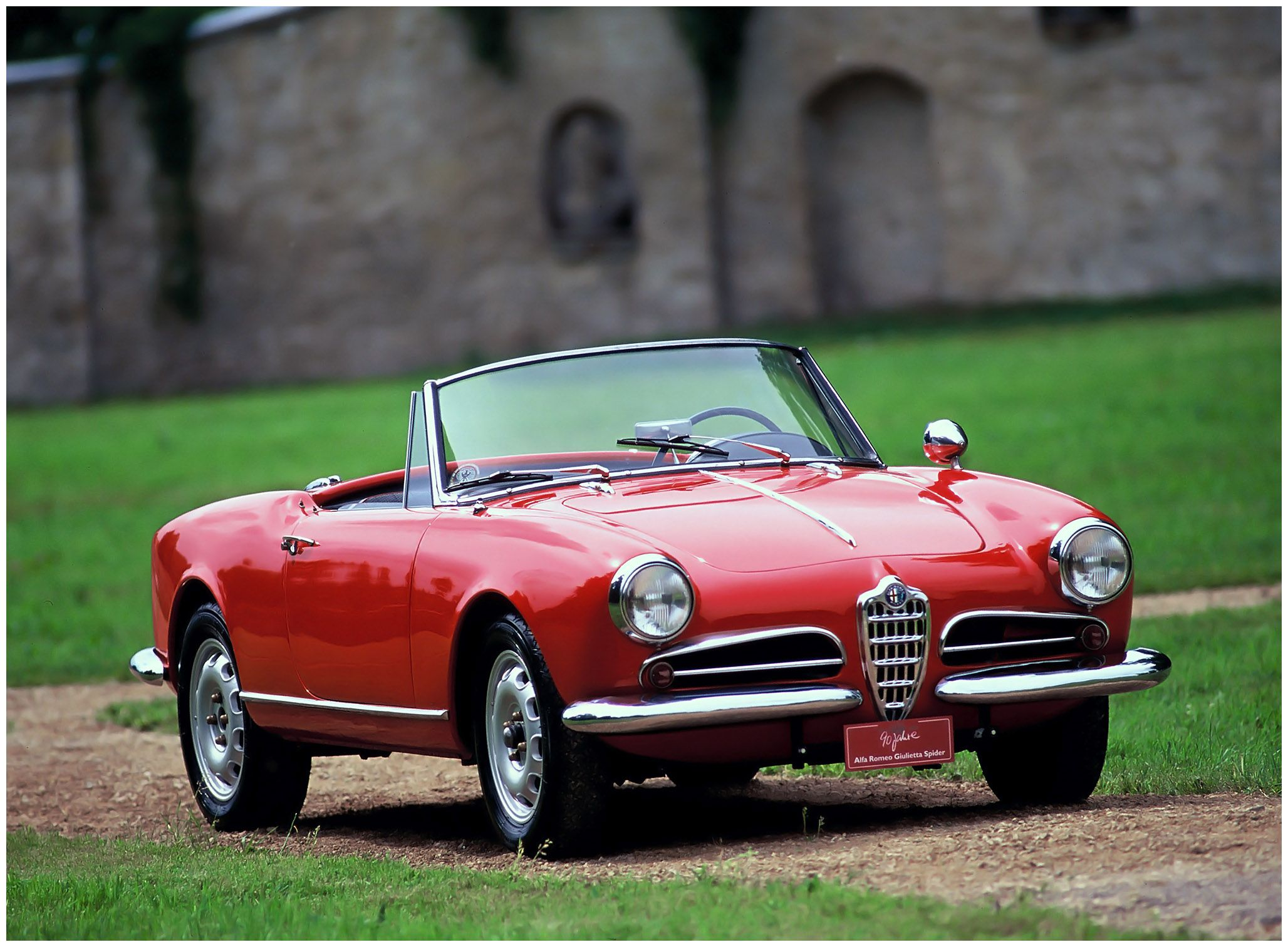 Alfa Romeo Giulietta Spider '195562 Cars + Alfa romeo