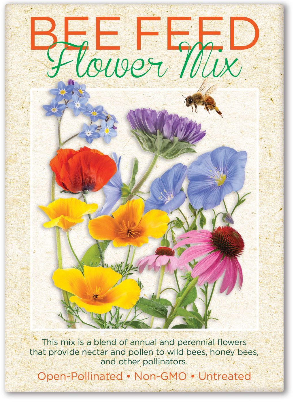 Bee Feed Seed Packet Garden Ideas Pinterest Seed Packets Bees
