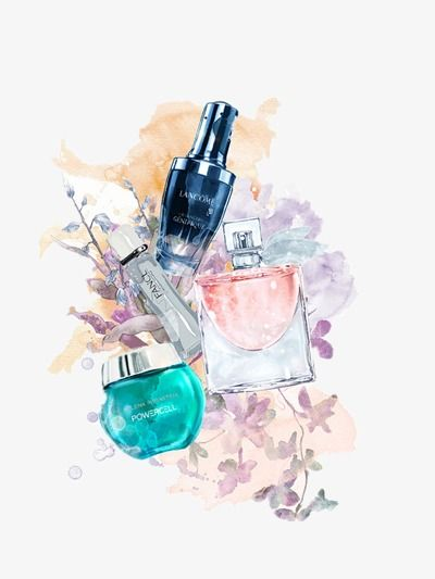 Cosmetic, Beauty Makeup, Perfume, Woman Decoration PNG and Vector with Transparent Background for Free Download | Makeup poster, Beauty posters, Makeup
