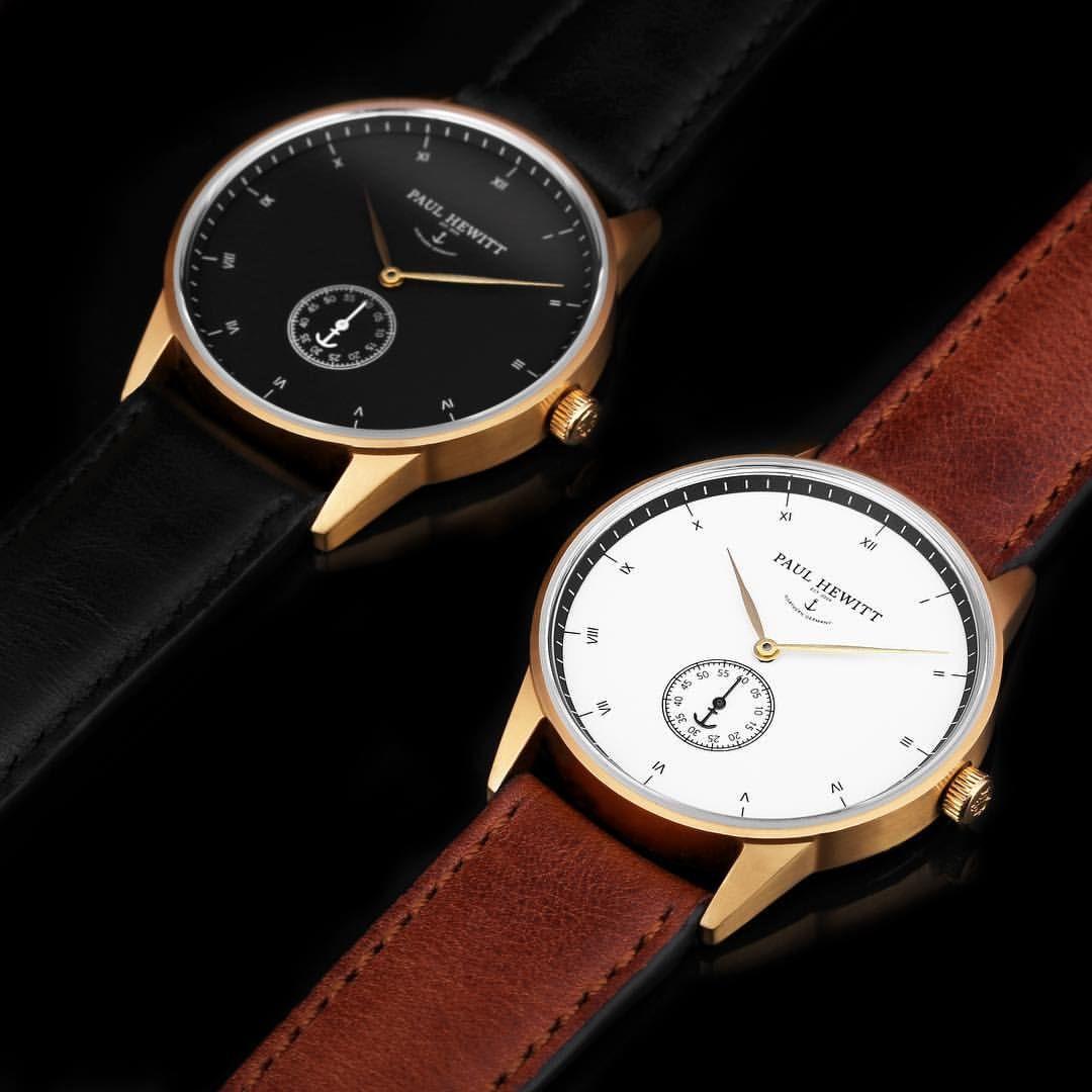 M E N S F A S H I O N On Instagram The Fantastic Paul Hewitt Signature Line Watches Are Pieces Of Authentic Timelessness Bijoux Montre Montre Accessoires