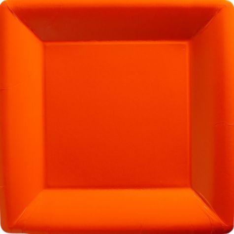 Orange Paper Square Dinner Plates - Party City & Orange Paper Square Dinner Plates - Party City | Ideas | Pinterest ...