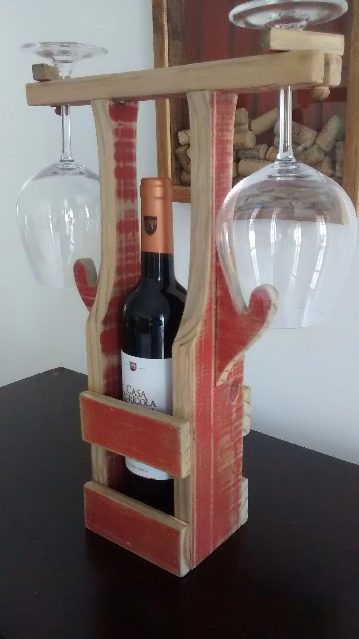 Pin By Jim Snyder On Wine In 2020 Small Woodworking Projects Wood Block Crafts Wine Decor