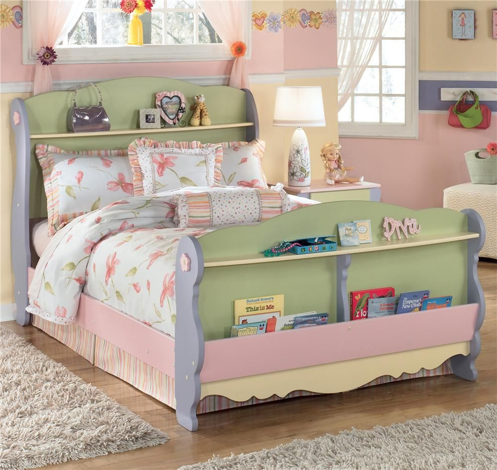 Doll House Full Sleigh Bed by Signature Design by Ashley ...