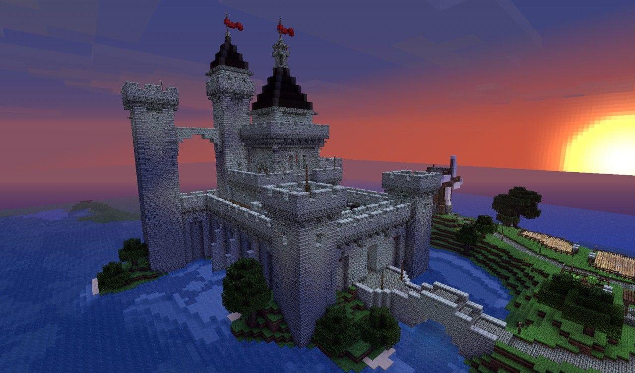 Tshara's castle Minecraft Map