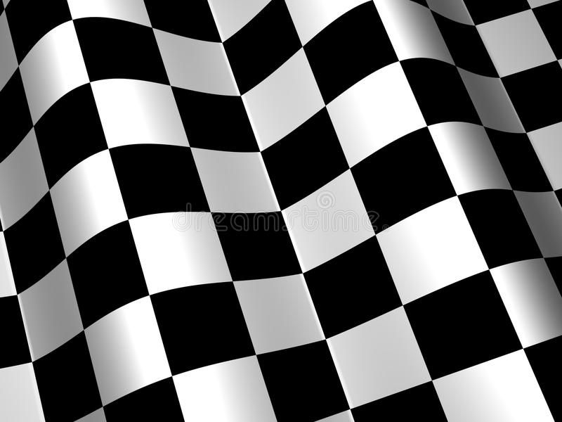 Racing Race Checkered Flag Background Royalty Free Illustration In 2020 Flag Background Checkered Flag Decal Checkered Flag