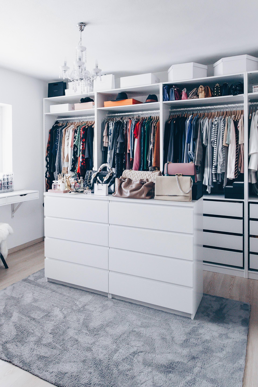 So habe ich mein Ankleidezimmer eingerichtet und gestaltet in 2019  Einrichtung