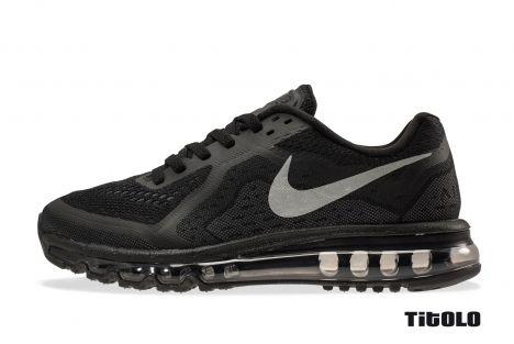 new arrivals 6b6ca 38eab Nike Air Max 2014 EUR 199.33 621077-001 Black Reflective Silver-  Anthracite-