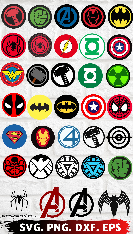 Clipartshop Bundle Of Superhero Logo Spider Man Iron Man Superman Deadpool Clipart Superhero Logo Marvel Superhero Logos Avengers Painting Marvel Tattoos