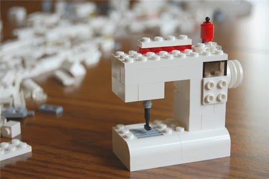 original Lego Bernina sewing machine