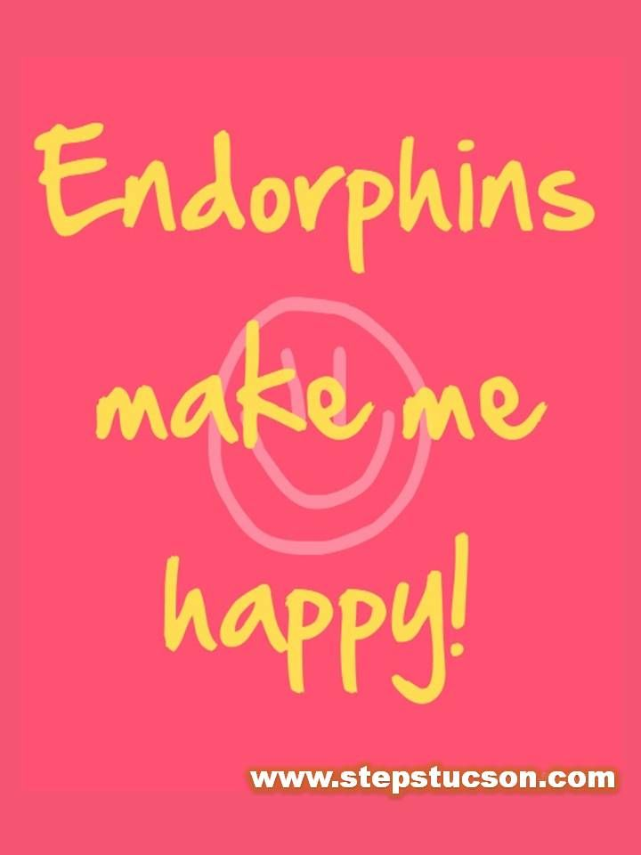 Endorphins make us all happy fitness love happiness