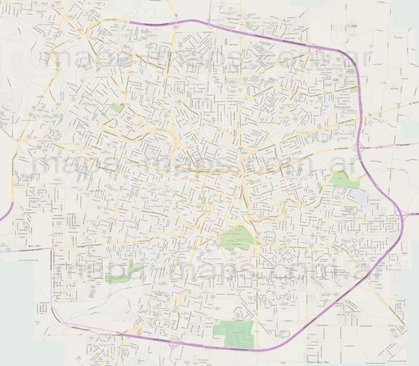 Mapa De Cordoba Capital.Mapa De Cordoba Capital Muy Grande Para Imprimir Y Otros