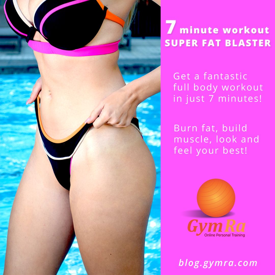 Quick Full Body Workout for Weight Loss. Experts are saying 7 minutes is all you need to get a full body workout! We've put together a fat blasting routine that will help you shed pounds and tone up from head to toe. Click the image to see the entire workout!