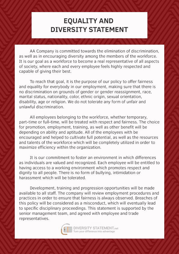 wwwdiversitystatementnet/help-writing-personal-statement-of - disability form