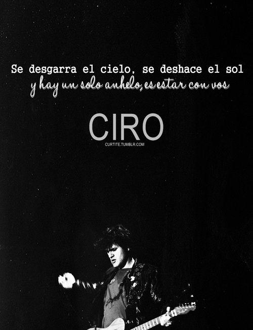 Ciro Y Los Persas Blues De La Ventana Frases De Rock