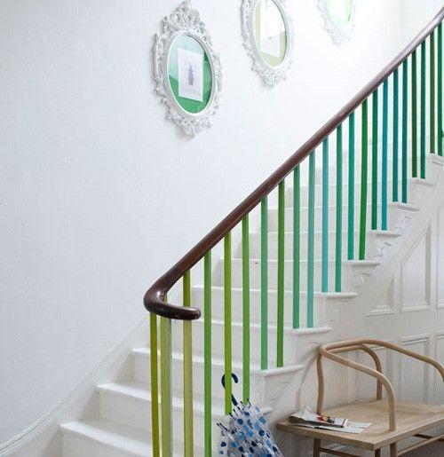 Barreaux escalier