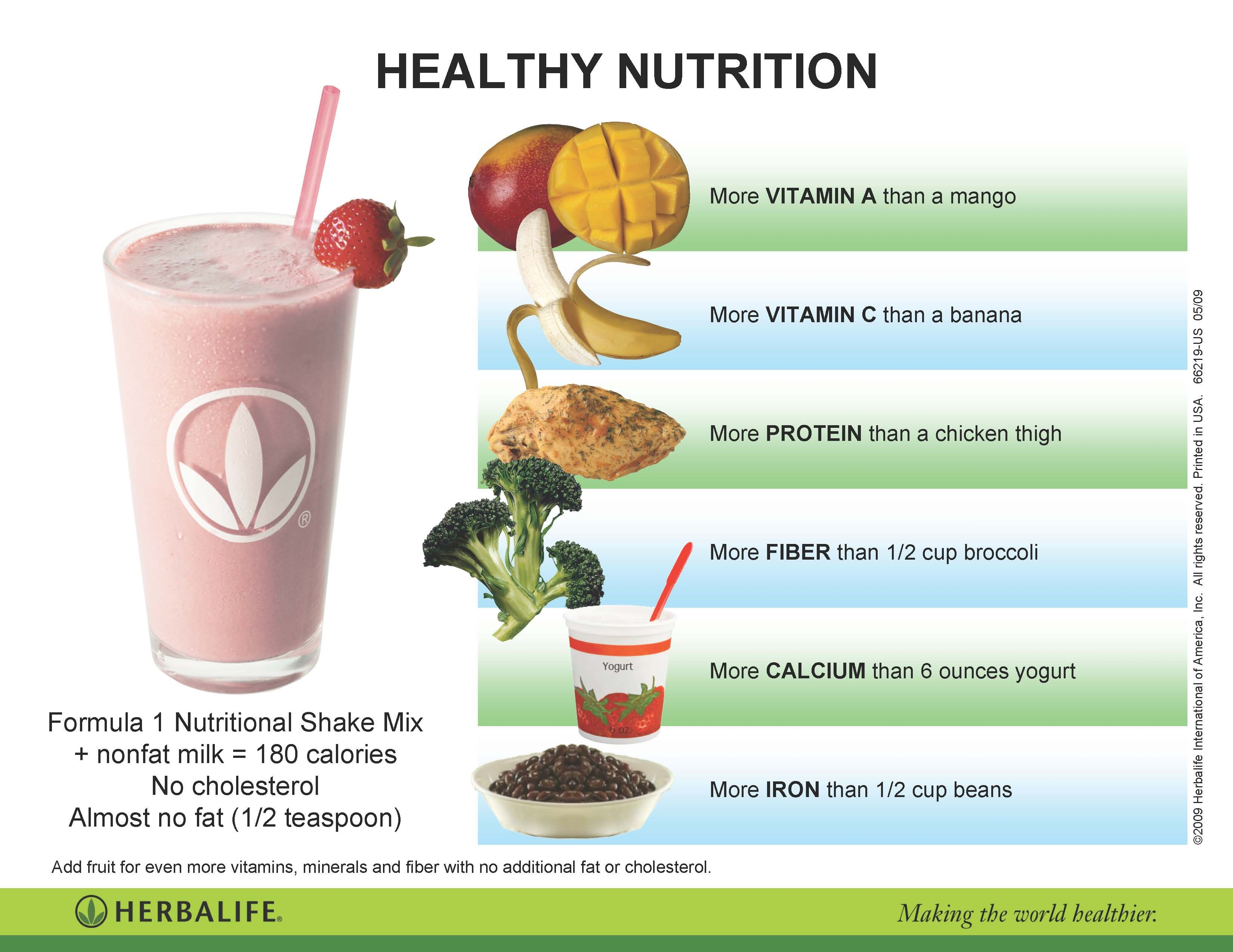 It is an image of Selective Herbalife Product Nutrition Labels