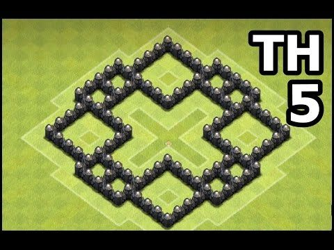 Clash Of Clans Town Hall 5 Farming Base Th5 Farming Base Defense