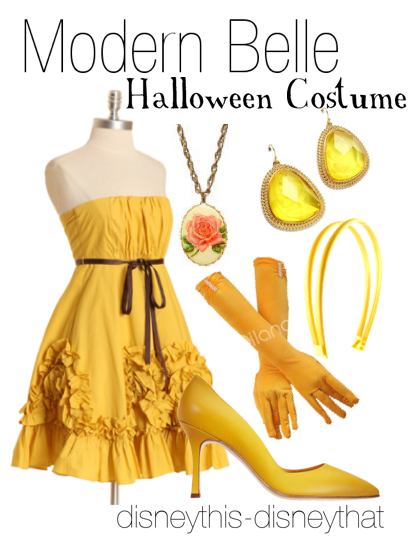 Modern Belle Halloween Costume  - holiday DisneyThis-DisneyThat on Tumblr.    sc 1 st  Pinterest : modern belle costume  - Germanpascual.Com
