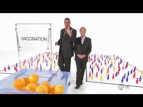 Penn and Teller have a way of getting a point across! Vaccines save lives.